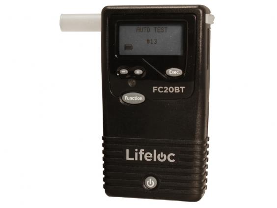 Alkotesteris Lifeloc FC20BT kit su bevieliu spausdintuvu