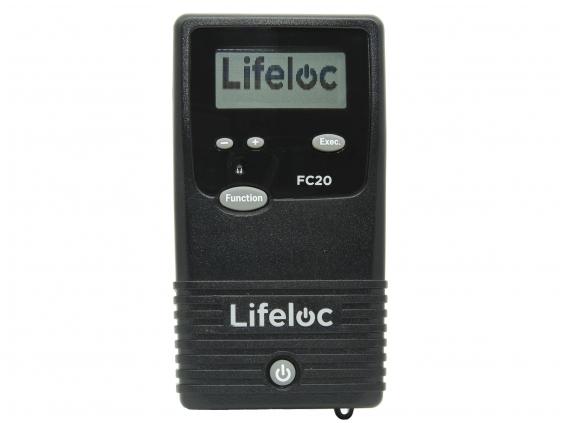Alkotesteris Lifeloc FC20 Kit su terminiu spausdintuvu