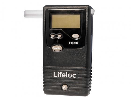 Alkotesteris Lifeloc FC10 su kalibravimo sistema EASYCAL®