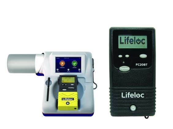 Alkotesteris Lifeloc FC20BT su kalibravimo sistema EASYCAL®