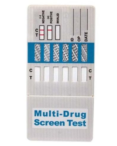 Momentinis narkotikų testas (panardinamas) 10 rūšių narkotikams aptikti
