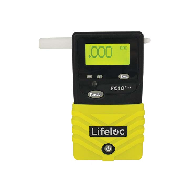 Alkotesteris Lifeloc FC10 Plius su metrologine patikra